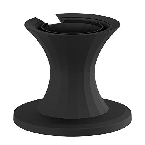 TLM Toys Accesorios Echo Dot, soporte de mesa para Echo Dot 4ª generación, soporte de soporte para altavoz inteligente hogar, mejora la visibilidad y apariencia del sonido, accesorios de punto