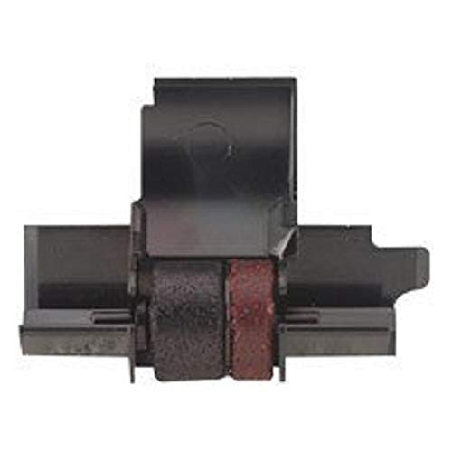 Compatible Seiko IR40T Ink Roller, Black/Red (2 Per Pack) For SHARP EL1750PIII (IR40T) -