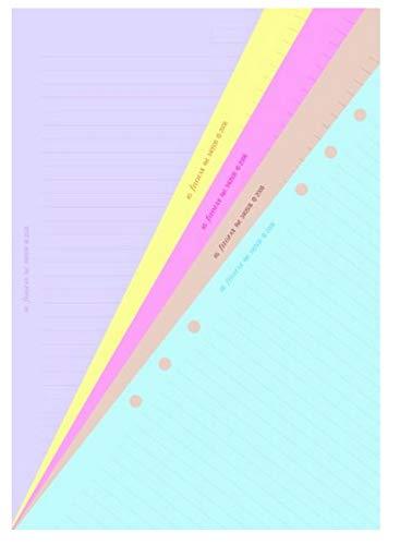 Filofax 340508 Notizpapier Classic A5, liniert, sortiert