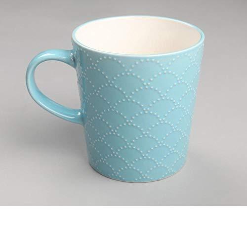 IRCATH koffiekopjes-set met schotel, koffiebeker van Rilievo, lichtroze, koffiekopje, koffiekopje, koffiekopje, koffiekopje, inhoud 340 ml
