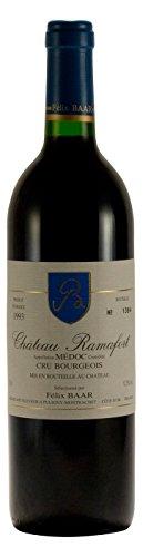 Cru Bourgeois AOC 1993 - Alter Medoc Rot-wein aus Bordeaux, Frankreich für besondere Anlässe - Französischer Jahrgangswein, Cabernet Sauvignon, Merlot