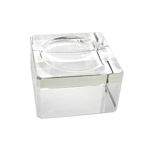 Homyl Klare Kristall Kugel Ständer Ausstellungsstand Für Kristallkugeln Glaskugel - 4 x 4 x 2 cm