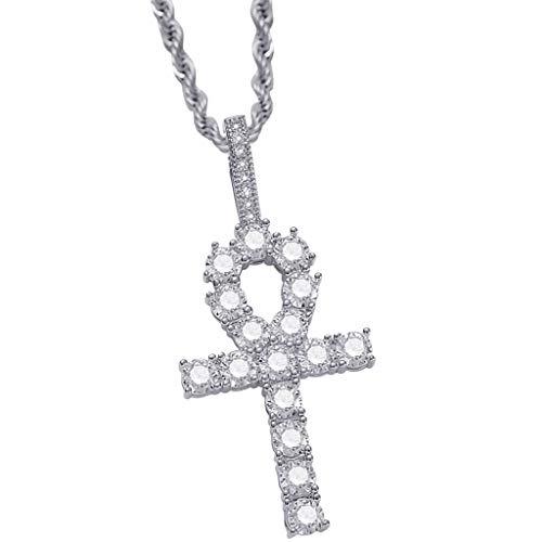 Baoblaze Jewel Organizer Bandeja de Exhibición Placa Que Sostiene El Collar Anillos Pendiente Pulsera - Plata, 5,1 x 2,4 cm