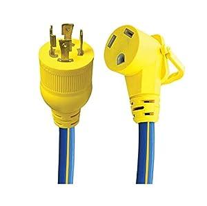 Conntek 10-Feet Auto DC 12-Volt Extension Cord Plug with 10-Amp Fuse 13210-10