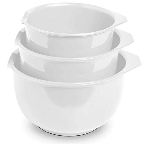 Mixing Bowls with Pour Spout (3) 3.6, 1.9, & 1.2 Quart