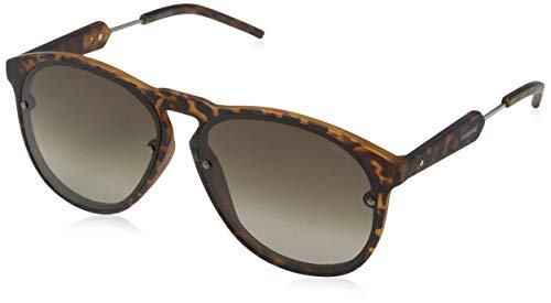 Polaroid PLD 6021/S 94 SKF Gafas de sol, Gris (Havana Ruthe/Brown Polar Ds), 58 Unisex Adulto