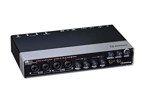 Steinberg 45030 UR44 - Interfaz de audio (4 puertos XLR, USB 2.0)