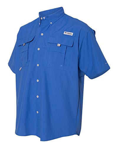 Columbia Sportswear Men's Bahama II Shirt, Blue Bright 05, Small