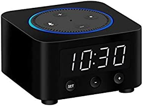Clock Stand for Amazon Echo Dot 2nd Generation (not 3rd gen) - Black