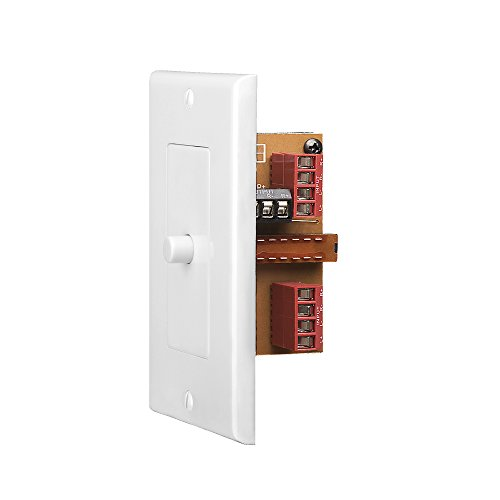 OSD in Wall Speaker Selector A/B Switch White Color Plate AB12