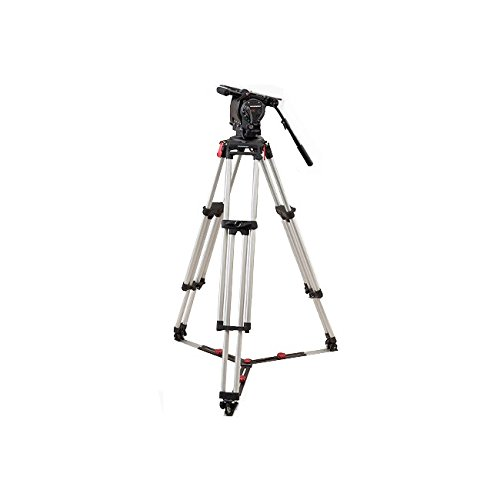 OConnor Ultimate 2575D Head & Cine HD Mitchell Top Plate Tripod System with Floor...