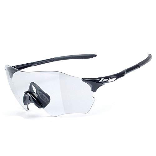 MAATCHH Gafas Ciclismo Ciclismo Correr Diseño del Marco Gafas de Sol for Mujer de Superlight de 6 Colores de Peso Ligero a Prueba de V (Color : Black)