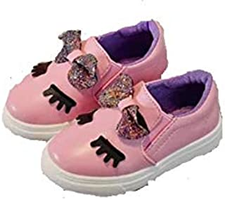 New Girls Shoes Bow Cartoon Shoes Baby Fashio Casual Shoes