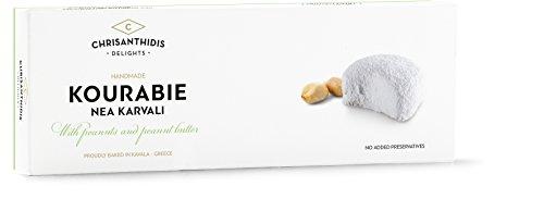 Chrisanthidis S.A. Kourabie Buttergebäck mit Erdnuessen und Erdnussbutter 200g, 2er Pack (2 x 200 g)