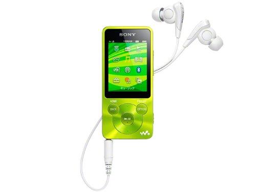 SONY ウォークマン Sシリーズ 16GB グリーン NW-S785/G