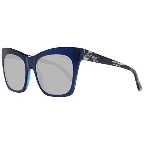 Guess by Marciano Sonnenbrille GM0759 84X 55 Gafas de sol, Azul (Blau), 55.0 para Mujer