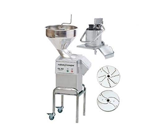 Best Deals! Robot Coupe CL55 2 FEEDHEADS E-Series Commercial Food Processor with Automatic Feedhead ...