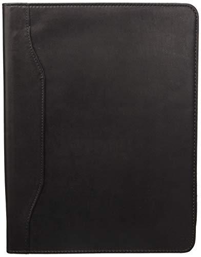 Idena 229019 - Dokumentenmappe DIN A4 mit Reißverschluss, 1 Block enthalten, Schwarz, 1 Stück