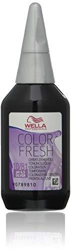 Wella Color Fresh Colorazione semipermanente senza ammoniaca, 10 81, 75 ml