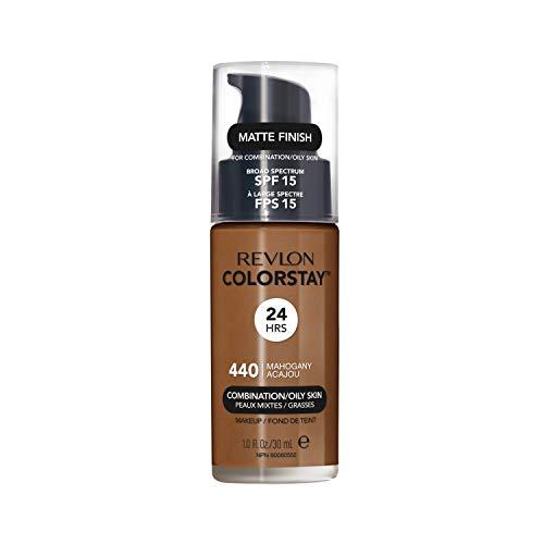 Revlon ColorStay Fond de Teint Peaux Mixtes à Grasses 440 Acajou 30 ml
