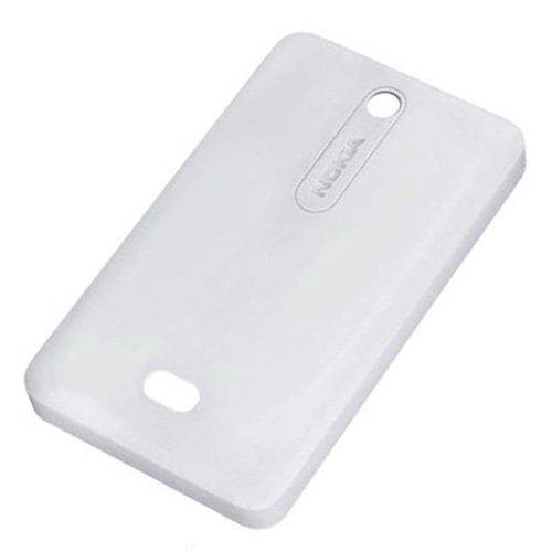 Nokia Asha 501 und 501 Dual SIM original Akkudeckel Weiss