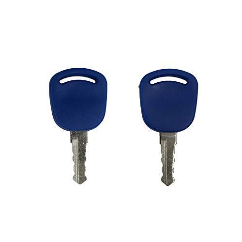 New Holland 14601 (2 Schlüssel) passend für Case-IH Ford NH Traktor Modelle 5640 6640 6640O 7740 7740O