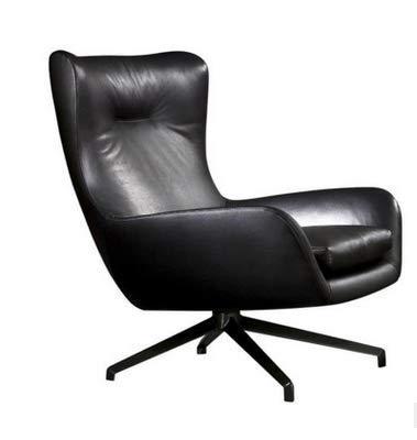 FTFTO Accesorios para el hogar sofá nórdico Individual sillón Moderno Minimalista salón Dormitorio diseñador Creativo Chaise Lounge sillón Tigre Negro
