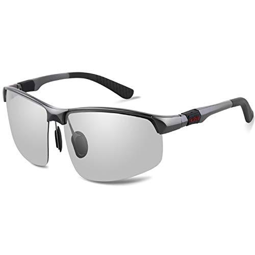 ZPL Polarised Sports Sunglasses Ultra-Light Frames 9-Layer Coating Anti-UV Storage Box For Skiing Golf Bicycle Run Drive
