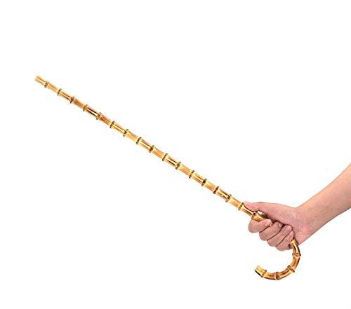 Liebe Seele Bastón de bambú natural con gancho ⭐