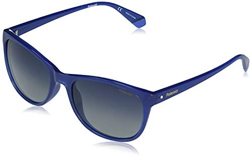 Polaroid PLD 4099/s Sunglasses, PJP/Z7 Blue, 55 Womens