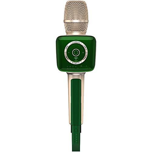 ZHJC Microphone de karaoké Song K Super Energy Microphone sans Fil Audio Microphone intégré Voiture Singing Bluetooth Microphone sans Fil pour Le Chant et la Performance