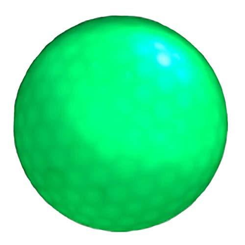 10 stuks Golf Glow Ball, maat 42,8 mm geschikt voor nachttraining, wedstrijd, golf, lange afstanden, meerdere kleuren roze, rood, blauw, groen, oranje, wit
