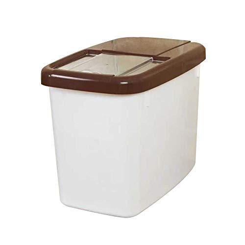 Super1798 - Caja de almacenamiento para arroz (10 kg, polipropileno)