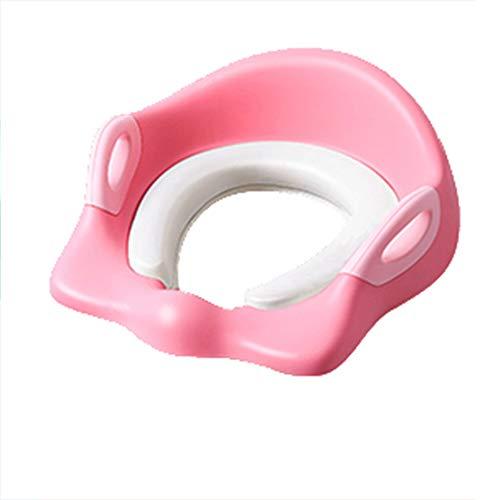 Toilettes pour enfants, sièges de toilette garçon et fille, siège de formation pour toilettes portables, avec coussin de siège antidérapant et antidérapant de sécurité, adapté aux enfants de 1 à 7 a