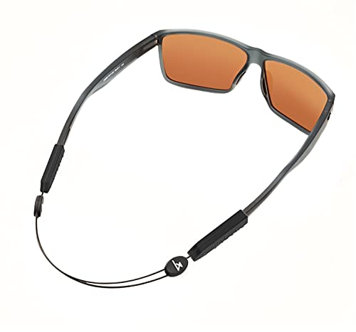 Luxe Performance Cable Strap Premium Adjustable No Tail Sunglass Strap and Eyewear Retainer for Your...