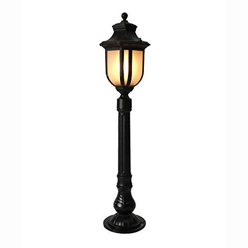 79cm E27 Borne Lumineuse Lampadaire Lumière Olive Grove Jardin Éclairage Poteau Borne Lumineuse Lumineuse Rue Lanterne Colonne Décor