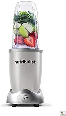 NutriBullet 1200W Series Blender, 10 Piece Set, Silver (N12-1007)