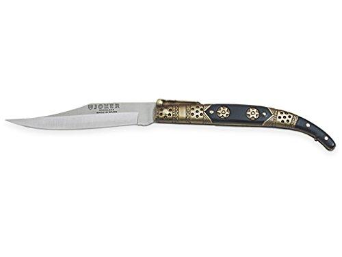 Joker Klassischer Taschenmesser N103C mit Zamak-Griff - ABS, Klinge 10 cm Edelstahl 420, Gewicht 80 Gramm, Angelgerät, Jagd, Camping und Wandern
