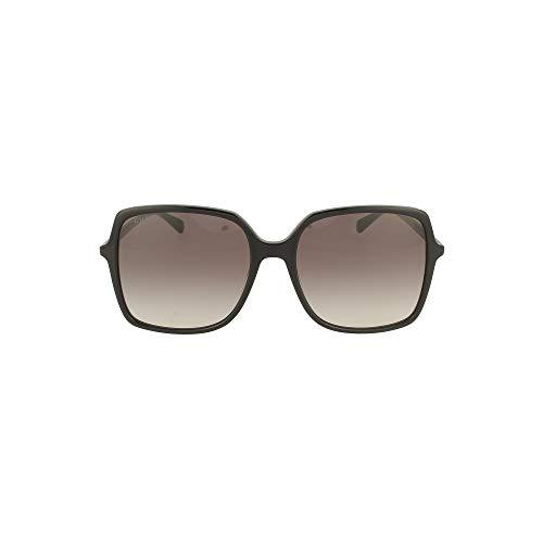 Gucci GG0544S 001 Black GG0544S Square Sunglasses Lens Category 2 Size 57mm