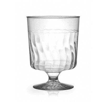 Fineline - Copas de vino de plástico duro (155 ml, 10 unidades)