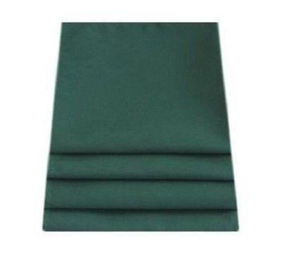 ServeWell - Set di tovaglioli in lino verde foresta, Lino, Verde, Set di 8