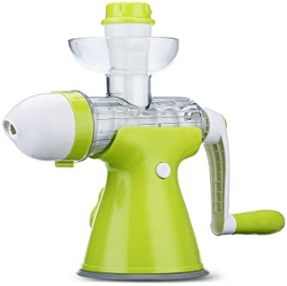 uHomee Household Manually Slow Grinding Juicer Multifunctional Machine for Ice Cream and Fruit Vegetable
