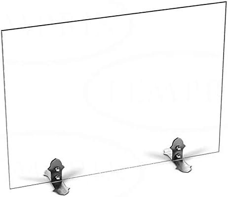 540/x 600/x 6/mm Marr/ón BxHxT Chimenea Horno rejilla protectora Cristal Protecci/ón contra chispas Chispas rejilla de protecci/ón Seguridad Temprix