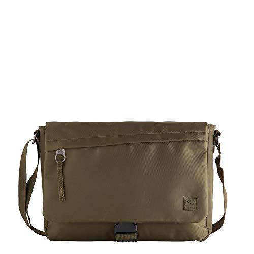 CARPISA® Bolsa solapa con bolsillo delantero - Go Travel verde militar Talla única