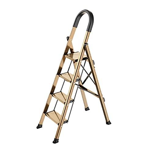 Taburete De Escalera Plegable De 4 Escalones con Empuñadura Elevada Y Pedal Ancho No Resbaladizo Escaleras De Tijera De Aluminio (Color : 1pcs Ladder B)