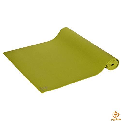 Yogamatte Premium 200 x 80 x 0, 45 cm Made in Germany, grün