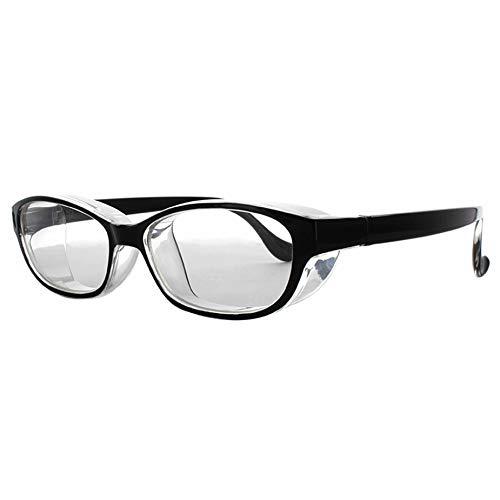 メイガン(Meigan) メガネ スタイル ブラック スモール スカッシー (目立たない 曇らない おしゃれ な 花粉 眼鏡)018702