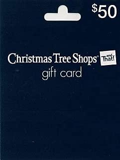 Christmas Tree Shop Gift Card