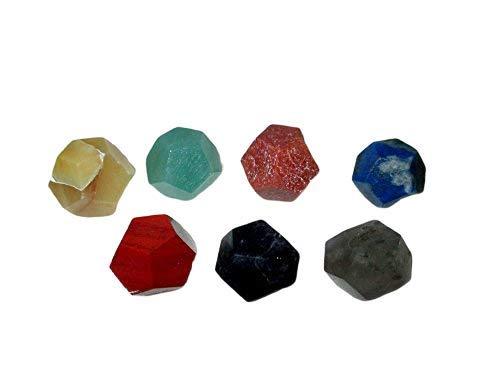 Jet International Fantástico Chakra Gemstone Dodecaedro Conjunto Geometría Platónico Sólido Aire sagrado Agua Tierra Fuego Hexágono Tetraedro Hexaedro Icosaedro Ictaedro cuadrado Octaedro cuadrado E