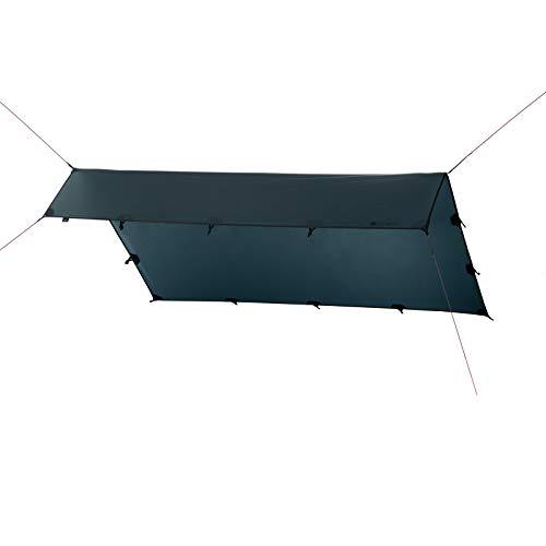 Qeedo Smart Tarp Sonnensegel, Trekking Tarp, leicht, robust, schneller Aufbau (3x4m)